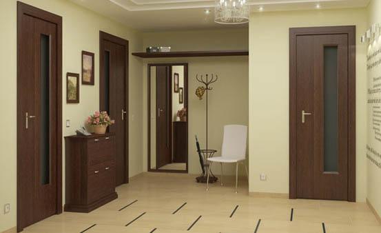 Двери и ламинат дизайн